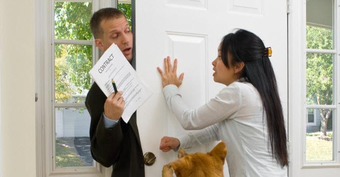 Scam Alert: Beware of Door to Door Alarm Salespeople in Atlanta
